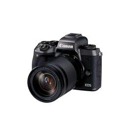 Canon EOS M5 Mirrorless Digital Camera with 18-150 mm Lens Kit -Black