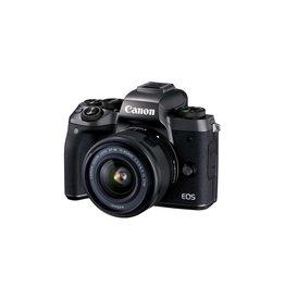 Canon EOS M5 Appareil photo numérique sans miroir avec 15-45 mm objectif Kit -Noir