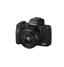 Canon EOS M50 Appareil photo numérique sans miroir avec 15-45mm Objectif -Noir