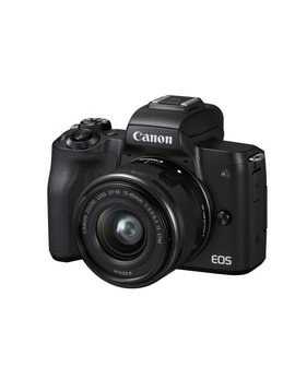 Canon EOS M50 Mirrorless Digital Camera with 15-45mm Lens -Black