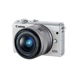 Canon EOS M100 Appareil photo numérique sans miroir avec 15-45mm Objectif- Blanc