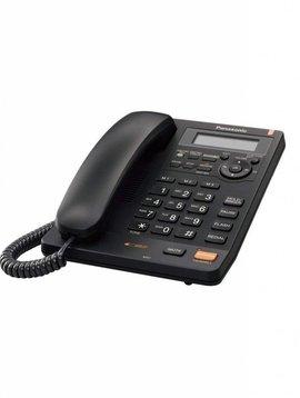 Panasonic KXTS620CB  Corded Phone with Caller ID, Black