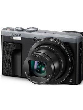 Panasonic LUMIX DMC-ZS60 Camera, 18 Megapixels, 1/2.3-inch Sensor, 4K Video, WiFi, Leica DC Lens 30X F3.3-6.4 Zoom - Silver