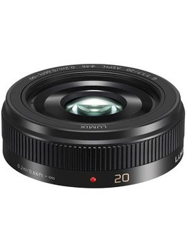 Panasonic H-H020 Ultra - Portable Pancake Lens