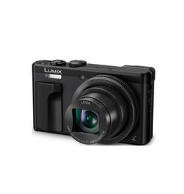 Panasonic LUMIX DMC-ZS60 Camera, 18 Megapixels, 1/2.3-inch Sensor, 4K Video, WiFi, Leica DC Lens 30X F3.3-6.4 Zoom -Black
