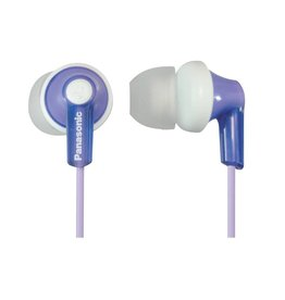 Panasonic RP-HJE120V In-Ear Headphone, Violet