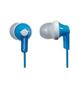 Panasonic RP-HJE120A In-Ear Headphone, Blue