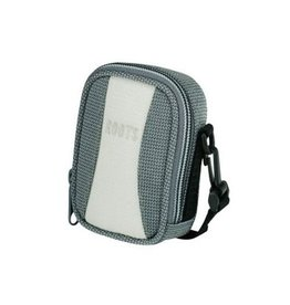 Roots Sling Compact Pouch for Digital Cameras - Silver/Tan