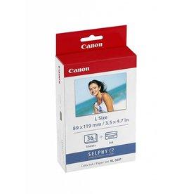 Canon Ensemble encre et papier cassette KL-36IP