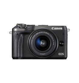 Canon EOS M6 Appareil photo numérique sans miroir avec 15-45mm Objectif Kit - Noir