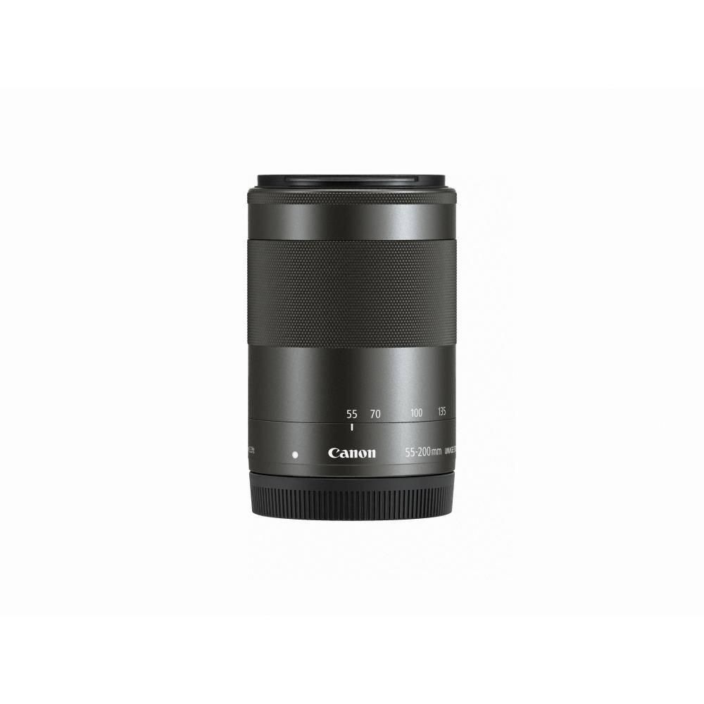 Canon EF-M 55-200mm f/4.5-6.3 IS STM Objectif-Noir