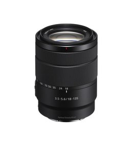 Sony SEL18135 - Zoom lens - 18 mm - 135 mm - f/3.5-5.6 E OSS - Sony E-mount