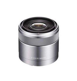 Sony SEL30M35  Macro lens  30 mm  f/3.5 silver for  Sony E-mount