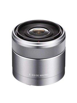Sony SEL30M35 Macro objectif 30 mm  f/3.5 argent  pour Sony E-mount