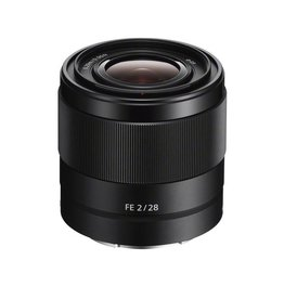 Sony SEL28F20  Wide angle lens  28 mm  f/2.0  for  Sony E-mount