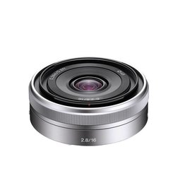Sony SEL16F28 - Wide-angle lens - 16 mm - f/2.8 - Sony E-mount - for Handycam
