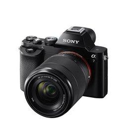 Sony Alpha a7 ILCE7K/B camera  sans miroir plein format  avec 28-70mm Objectif