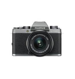 FujiFilm X-T100 camera sans miroir avec XC 15-45mm objectif - Argent foncé
