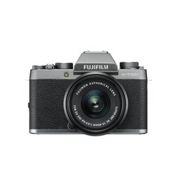 FujiFilm X-T100 Mirrorless camera Kit with  XC 15-45mm lens - Dark silver