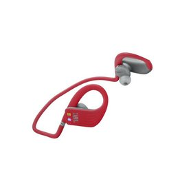 JBL Endurance DIVE Waterproof Wireless In-Ear Headphones with MP3 Player - Red