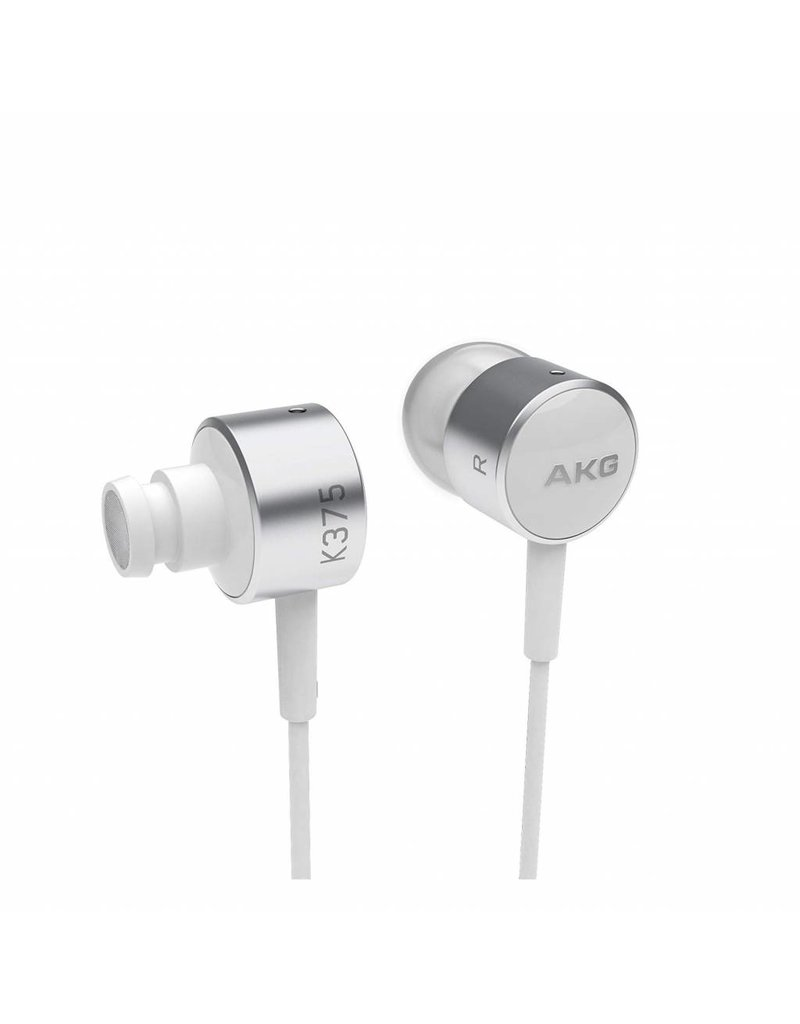 AKG High Performance In-ear ..3 button remote - White