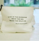 """Live in the sunshine""Travel Pouch"