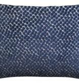 Jazzy Navy Pillow