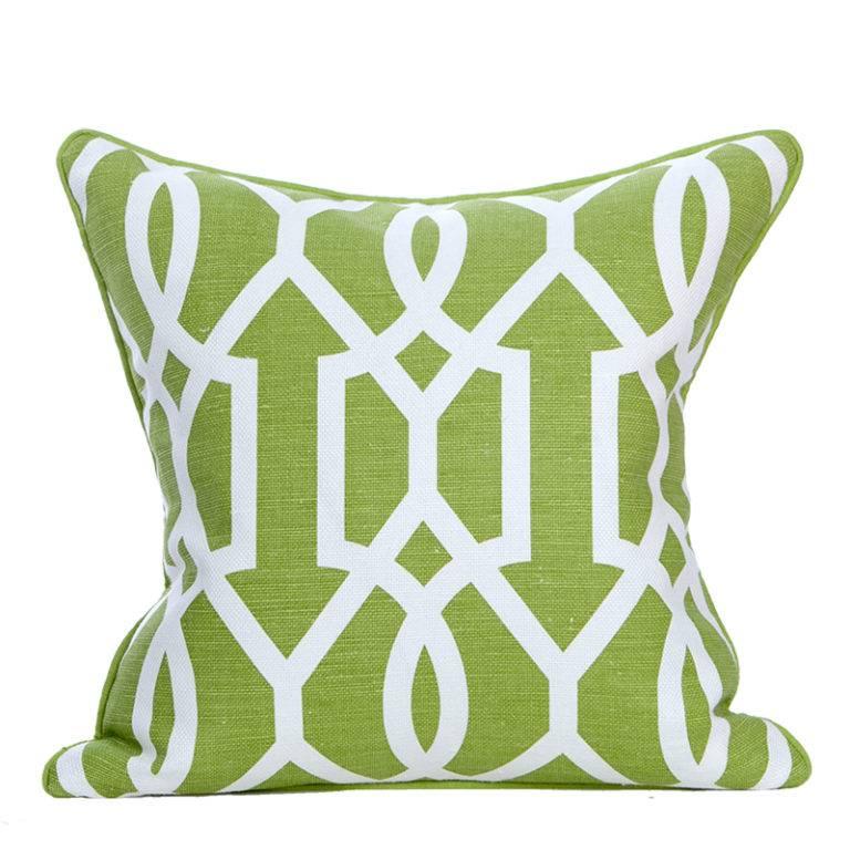 "Coastal Home Pillows Sea Gate Pillow-Palm 22"""