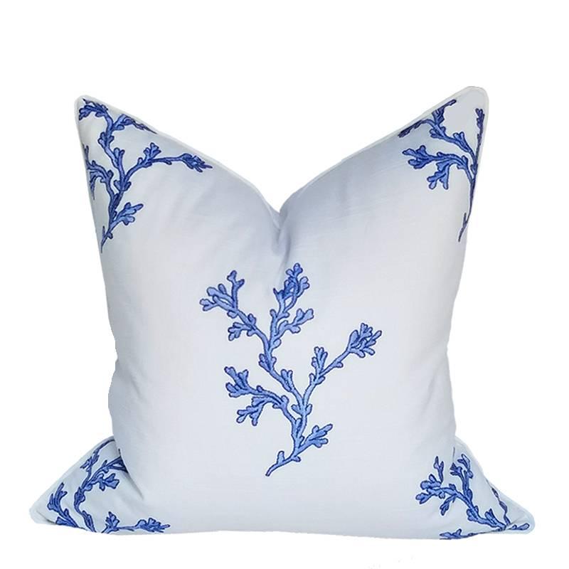 """Coastal Home Pillows Blu' Kelp Pillow-22"""""""