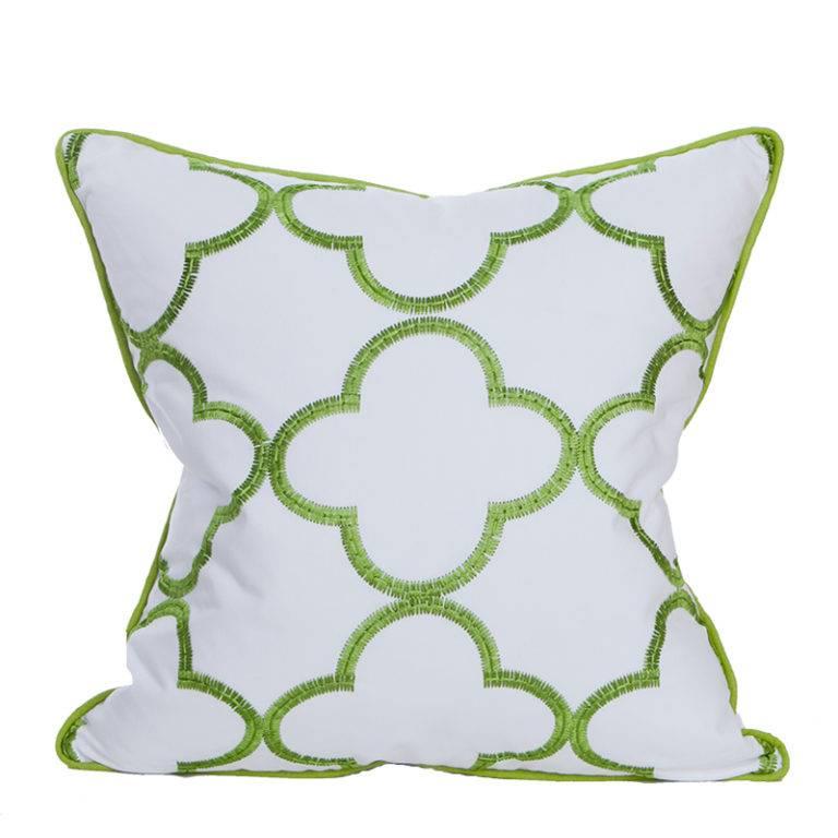 "22"" Whitehall Pillow-Palm"
