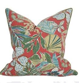 Coastal Home Pillows Biscayne Collection Shell Garden Pillow