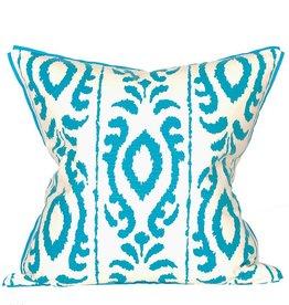 Coastal Home Pillows Palm Beach Collection Seabreeze/Cyan Pillow