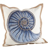 Spiral Shell Pillow