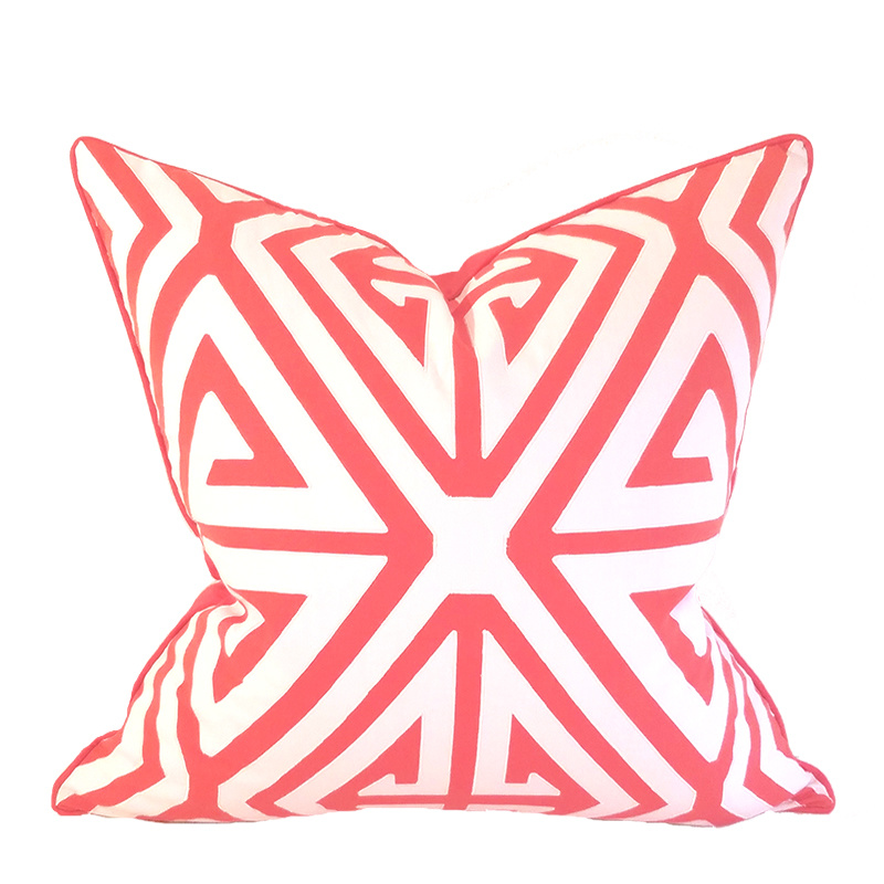 Biscayne Collection Bowens Pillow -Watermelon