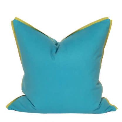 Companion Pillow Cyan