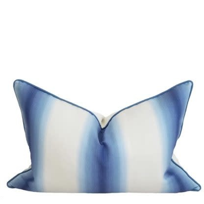 Malibu Blue Ombre Pillow
