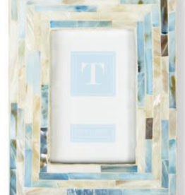 Light Blue Tiled MOP Frame 4x6
