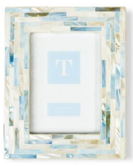 Light Blue Tiled MOP frame 5x7