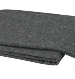 Graphite Herringbone Throw