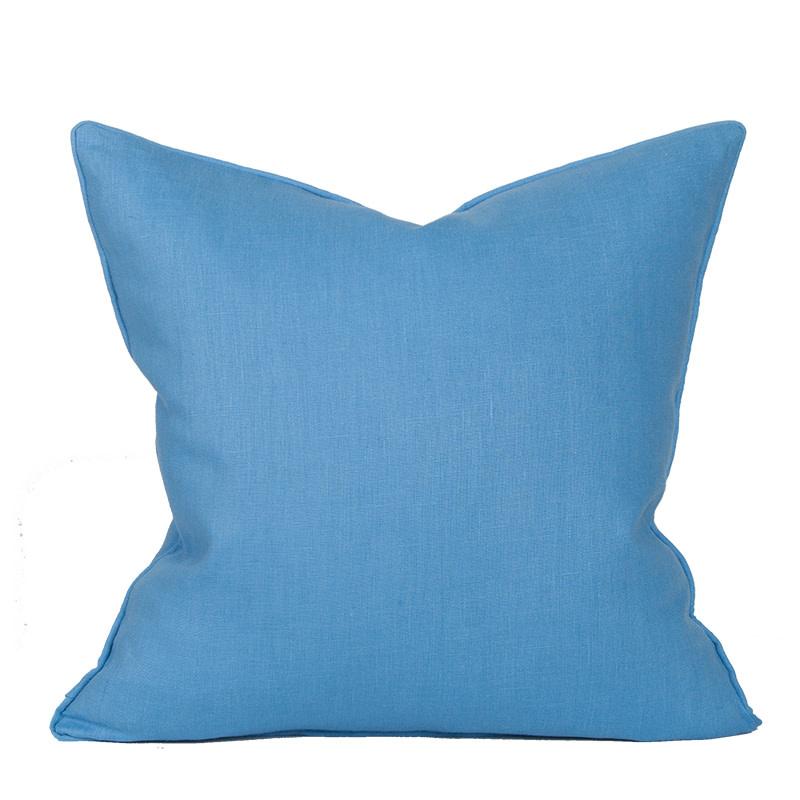 Compliment Linen Pillow-Cornflower