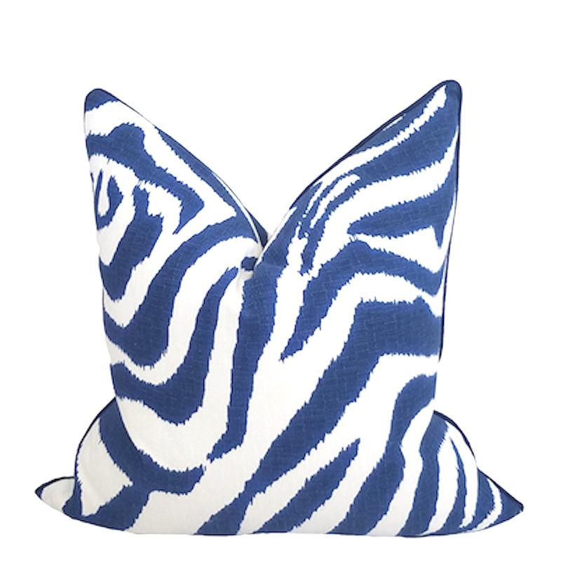 Palea Zebra II Pillow-Marine
