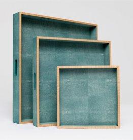 Amina Tray Turquoise-Large