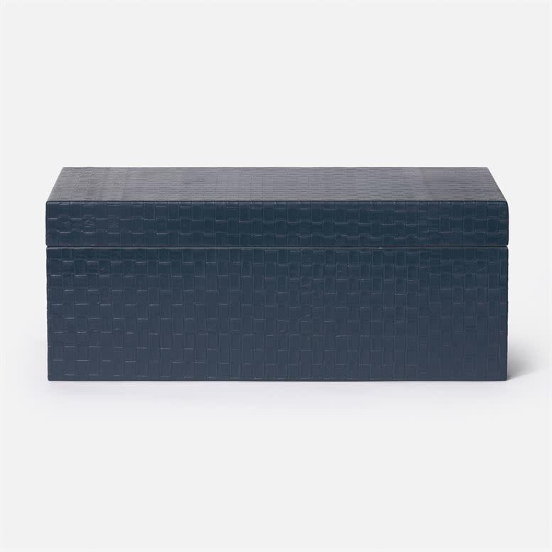 Gentry Box in Matte Navy