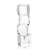 Crystal Cubist Candleholder (Medium)