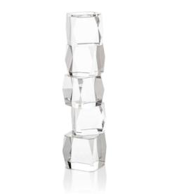Crystal Cubist Candleholder (Large)