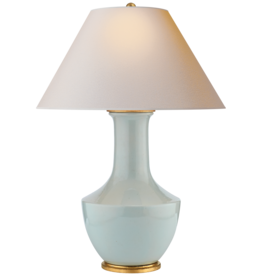 Lambay Table Lamp-Ice Blue