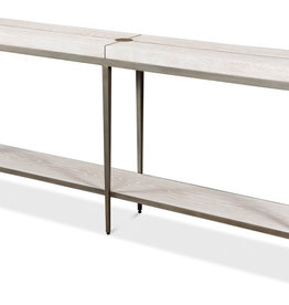 Solaris Console Table-Whitewash White