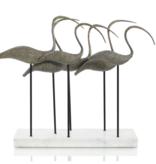 Ibis Verdigris Sculpture