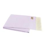 Lilac Italian Herringbone Throw
