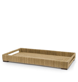 Woodside Rect. Tray,  Large - Natural